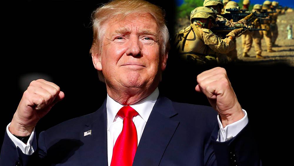 Трамп Хитрец и Военные США - спасители человечества Выборы в США 2020 Америка кто президент