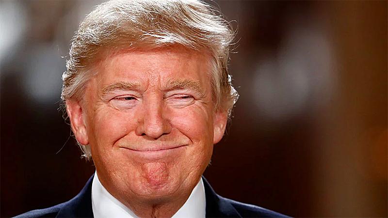 хитрый трамп