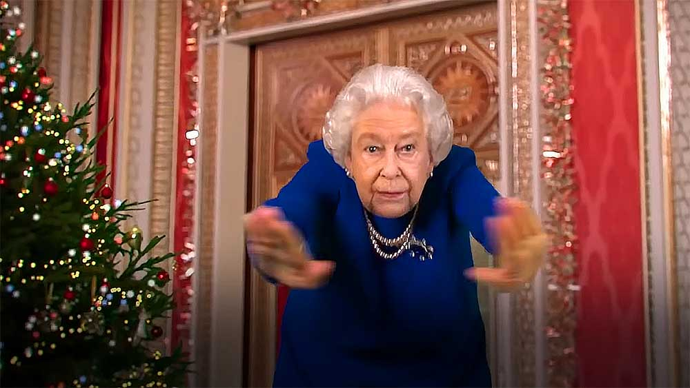 танец королевы елизаветы 2020