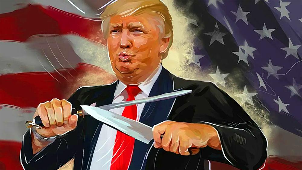 трамп идёт в атаку