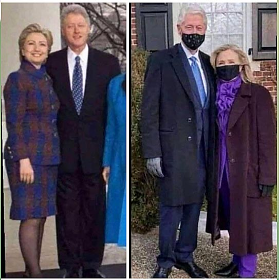 двойник клинтонши
