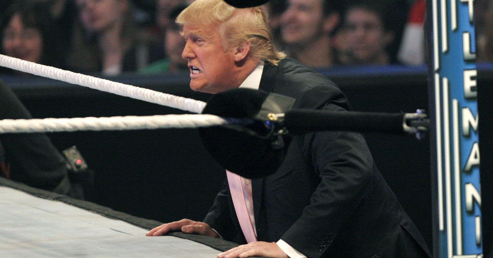 трамп и ринг