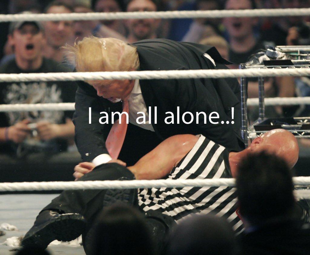 трамп на ринге